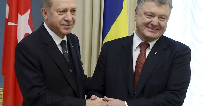 Turkey's Erdogan supports Ukraine over Crimea