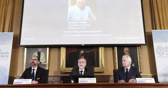 The Latest: For 2nd year, no women among Nobel winners