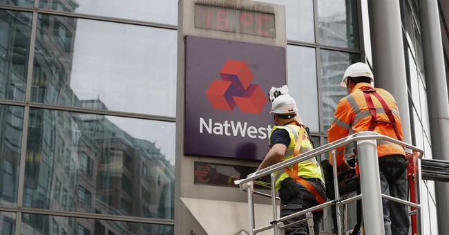 Bailed-out RBS removes logo from flagship office