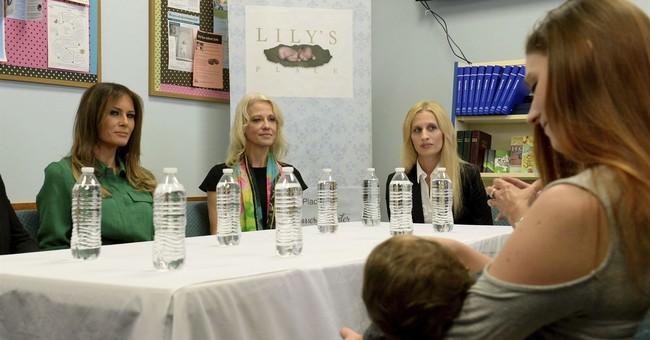Melania Trump tours West Virginia infant drug rehab center