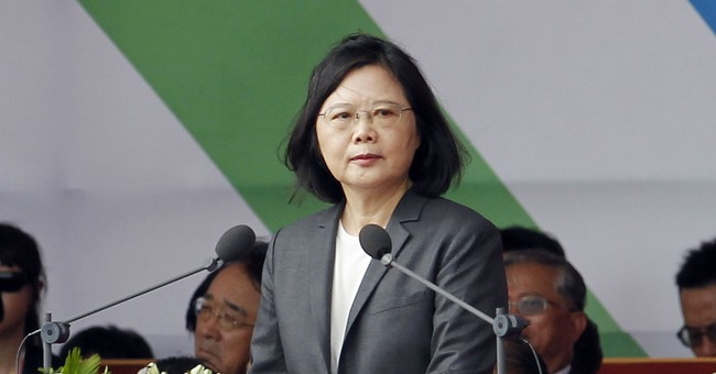 Taiwan leader: Protect regional stability amid China tension