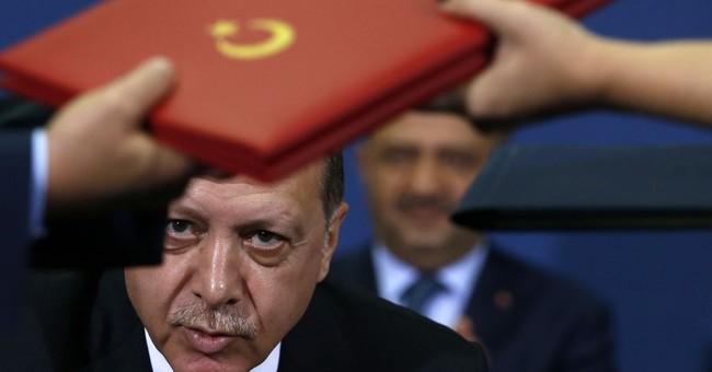 Turkey's Erdogan says arrested US consulate staffer is a spy