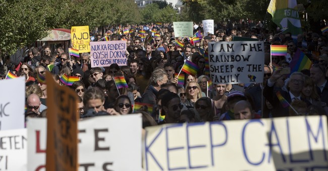 Kosovo gay community hold 1st pride parade