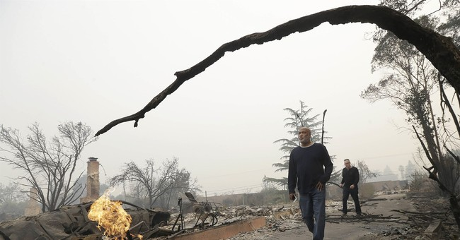 The Latest: Southern California fire 40 percent contained