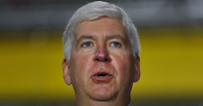 Michigan governor sticking to story about Legionnaires'