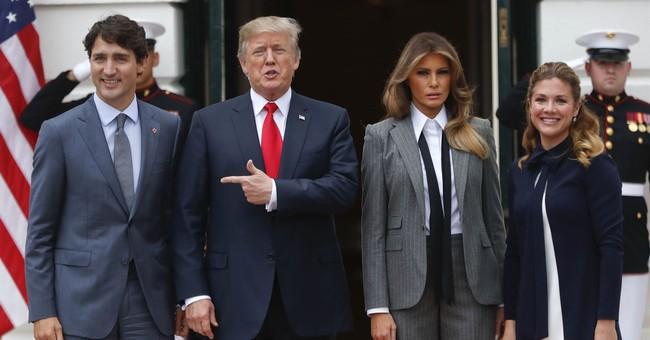 The Latest: Trump says 'we'll see' on NAFTA talks