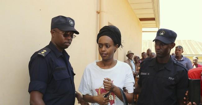 Rwanda ex-presidential candidate denies insurrection charge