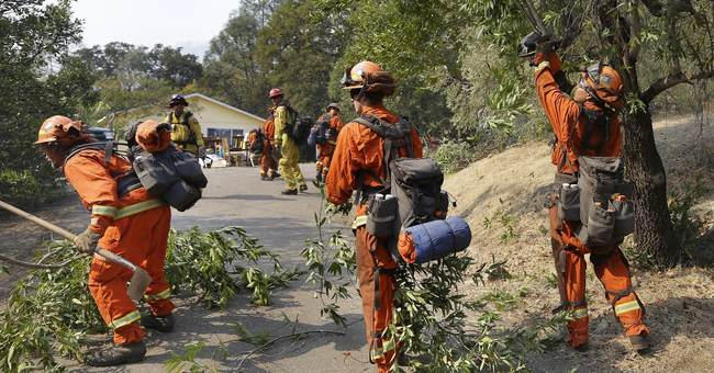 The Latest: 23 now dead from Northern California wildfires