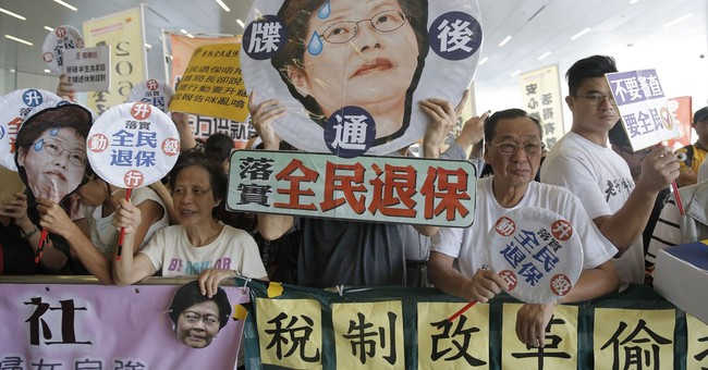 Hong Kong leader: Reject threats to China's sovereignty