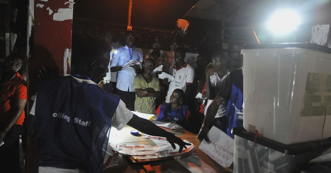 Liberia vote-counting continues as runoff election likely