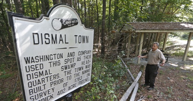250 years after Washington drained it, feds soak a swamp