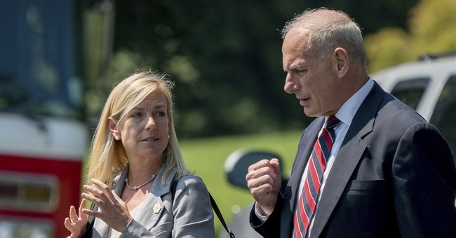 The Latest: Trump to nominate White House aide to head DHS