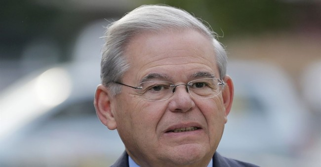 The Latest: Government rests in Sen. Menendez bribery trial