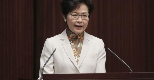 Hong Kong leader: Reject threats to China's sovereignty