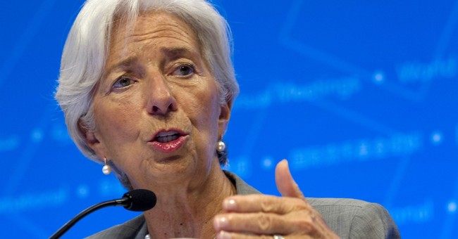 IMF head Lagarde warns of rising risks to global economy