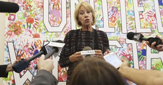 DeVos touts school choice, STEM for $4 billion in grants