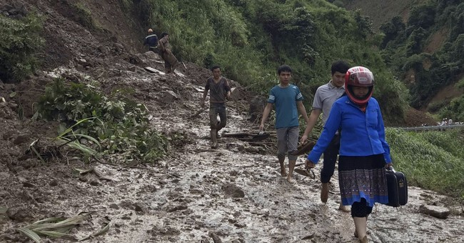 Floods and landslides kill 43, leave 34 missing in Vietnam