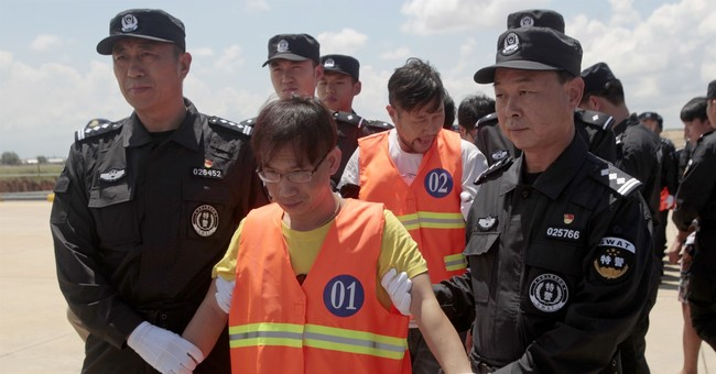Cambodia deports Chinese accused of operating online scam