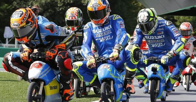 Image of Asia: Mini motorcycles at Japan MotoGP