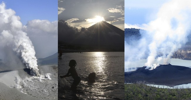 Volcanoes on 'Ring of Fire' remind Asia of its seismic peril