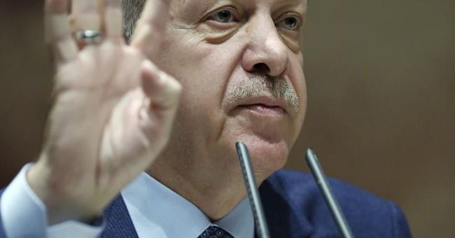 Turkish troops move into al-Qaida-dominated Syrian province