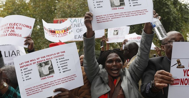 The Latest: Odinga 'ready to jump in' vote if Kenya reforms