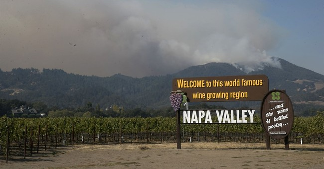 A day in the Northern California fire zone