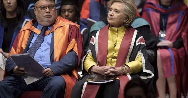 Clinton attacks Trump's handling of Iran, North Korea
