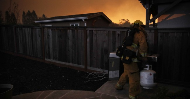 Residents seek normalcy in California city hit hard by fire