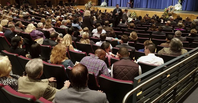 Hundreds attend service for victim of Las Vegas shooting