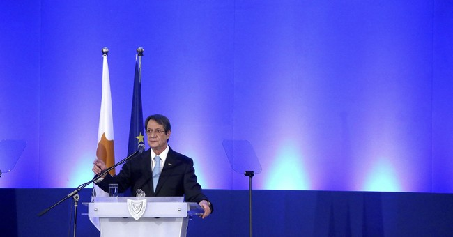 Cyprus president, 71, declares bid for second 5-year term