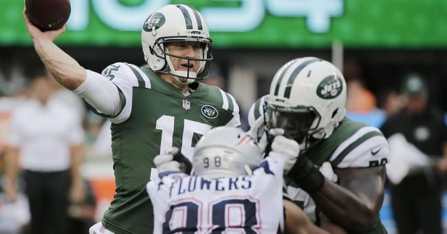 Brady gets wins record, Patriots hold off Jets 24-17