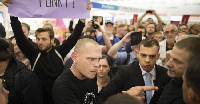 Germans clash at 'new right' publisher's book fair event
