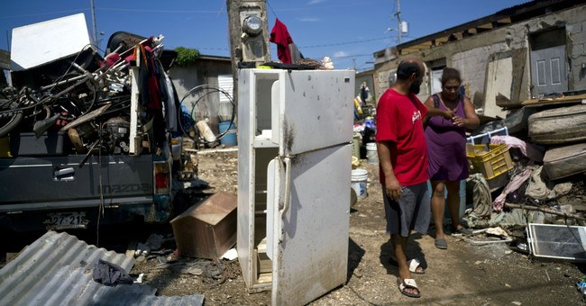 AP PHOTOS: Thousands in Puerto Rico shelters after hurricane