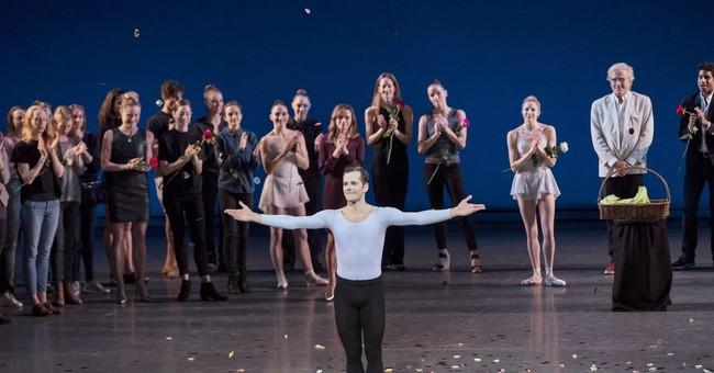 Robert Fairchild ends ballet career with confetti, flowers