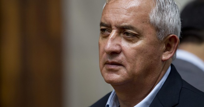 Ex-Guatemalan president says he's innocent in graft case