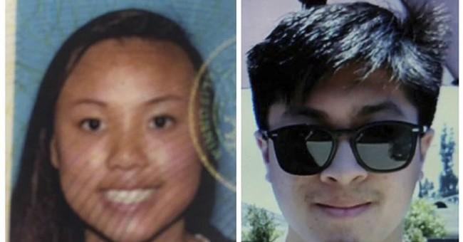 Authorities: Bodies in California desert locked in embrace