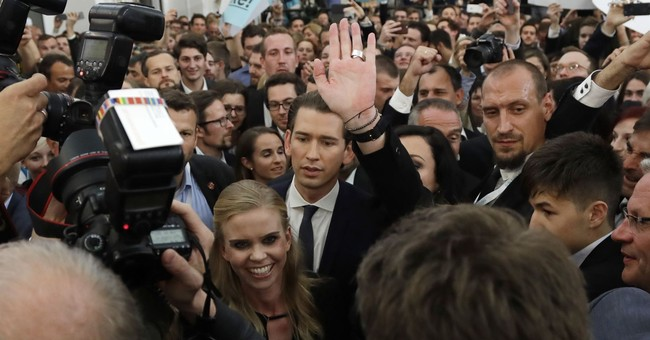 Center-right party win secure as Austrians count ballots