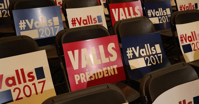 Valls vs. Hamon in French Socialists' presidential primary