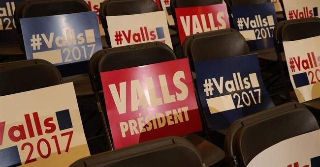 Valls vs. Hamon in French Socialists' presidential primary