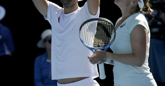 Spears, Cabal win mixed doubles, continue 30s theme in Oz