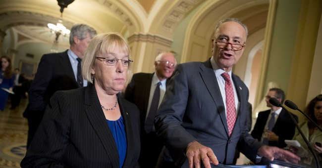 GOP, Dem senators push health deal as Trump keeps distance
