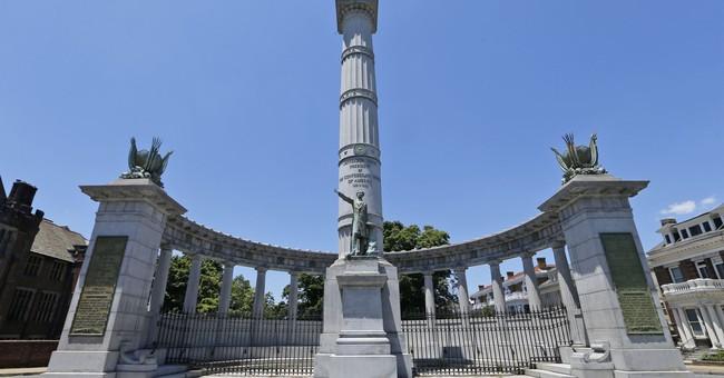 Confederate monuments vandalized in 2 Virginia cities