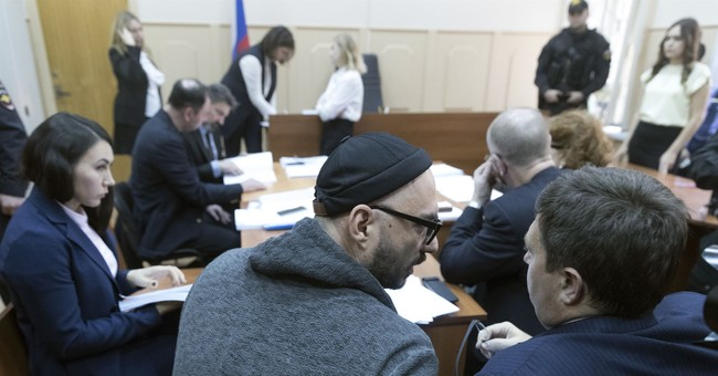 Court extends house arrest for Russian theater director