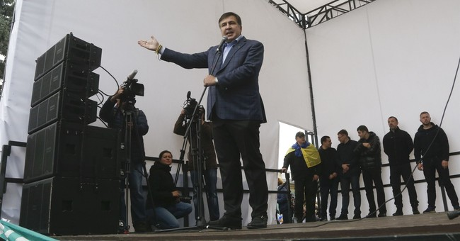 Thousands of anti-government protesters rally in Ukraine