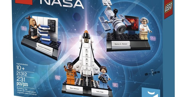 Lego unveils 'Women of NASA' set with astronauts, scientists