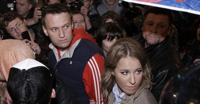 Russian TV star Sobchak declares her presidential bid