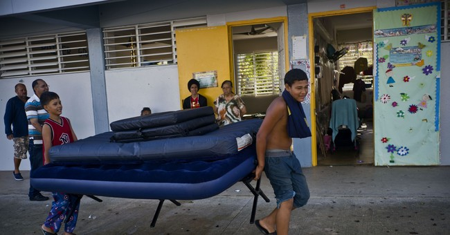 Puerto Rico youth stranded with school still out from storm