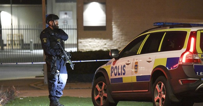 Swedish police station damaged in explosion, no injuries
