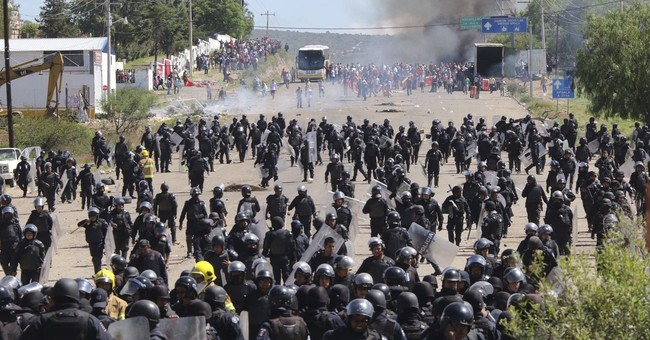 Report: Excessive force used against Mexican protesters